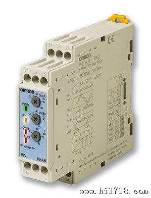 导轨din标准 测量和监控继电器 三相逆相序断缺相不平衡 k8ab-pa
