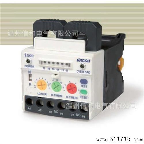 基于MCU智能微控制器技术的过流继电器 马达保护器 ICOR-S05