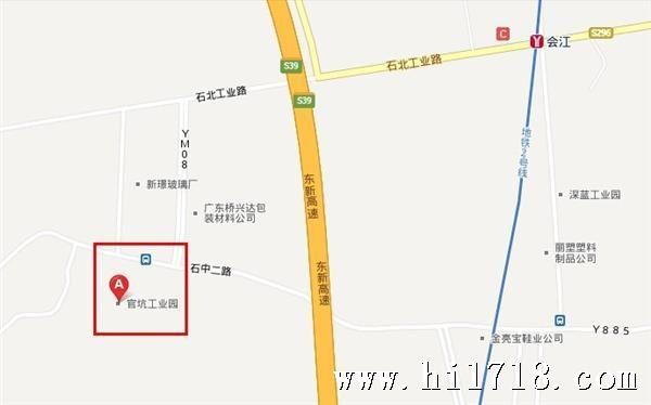 番禺大石镇地图