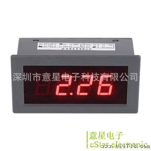 es5135b icl7107 三位半 led 数显交流电压表头 数字ac电压表头