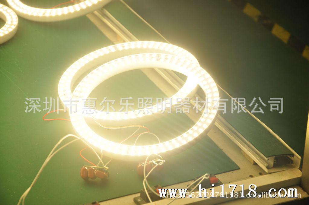 001 深圳厂家6-7w led环形灯管 smd3528 108珠圆形