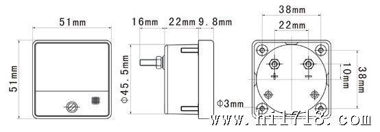 2,直流电流表,电压表采用磁电系测量机构.