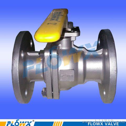 q941f-16p 316 不锈钢法兰电动球阀(开关型) 电动球阀dn40 电动球阀