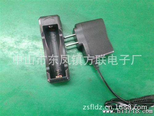 充电器/【厂家批发】锂电池充电器充电器 单槽充电器 18650锂电池充电...