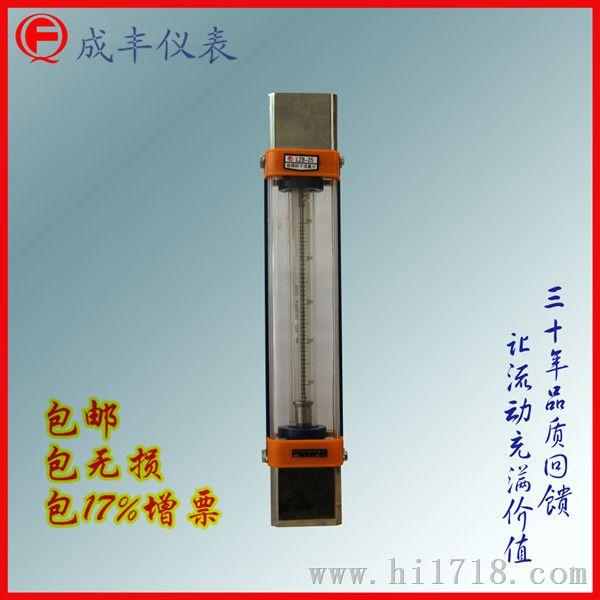 玻璃转子流量计厂家【常州成丰】包邮广州,非标定制之王浮子流量计25口径,【成丰仪表】特殊连接定制