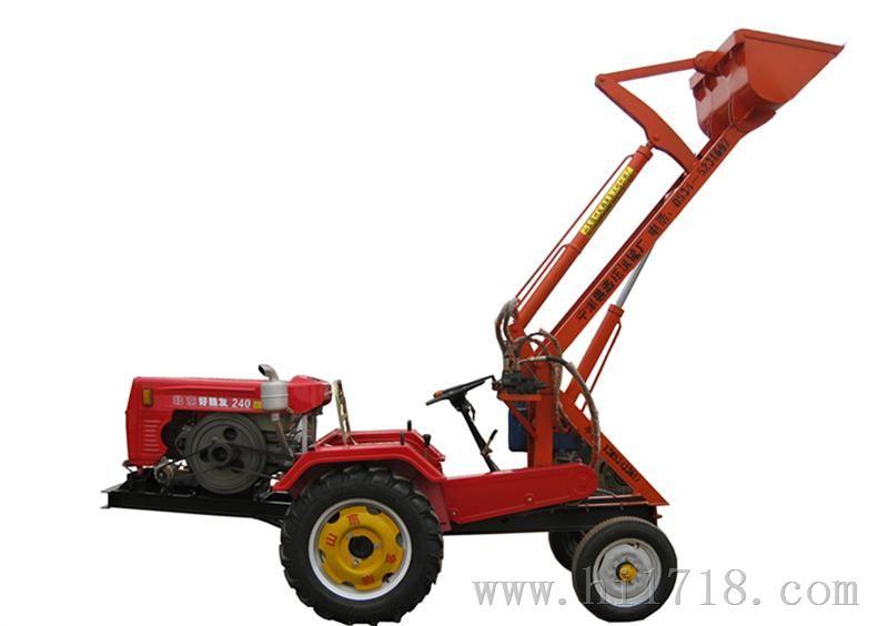 改装拖拉机小铲车