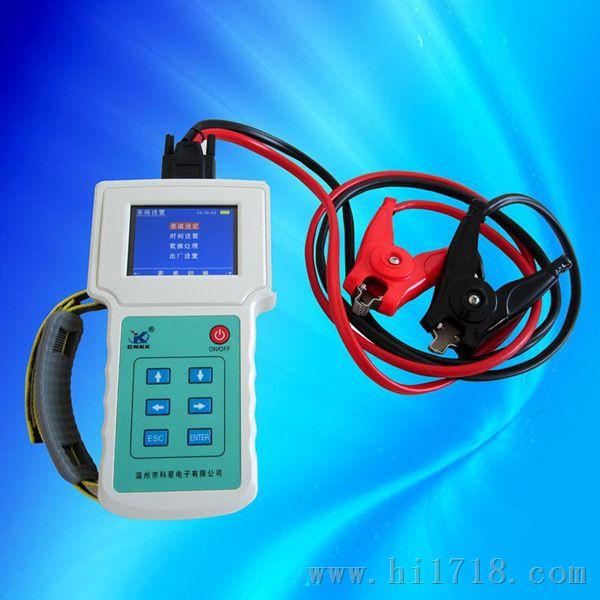 测量蓄电池健康状态,荷电状态以及连接电阻等参数的数字存储式仪器.